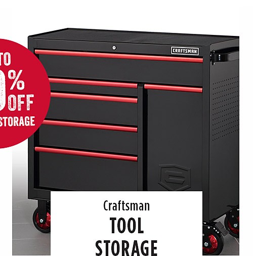 up to 50%off tool storage