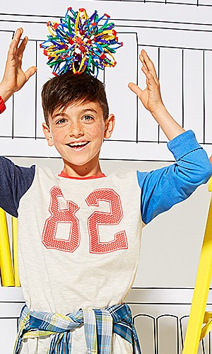 Kids' back-to-school fashions up to 30% off