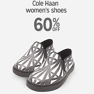 60% off Cole Haan women's shoes