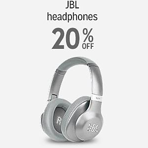 20% off JBL headphones