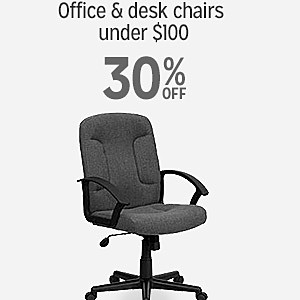 30% off on office & desk chairs under $100