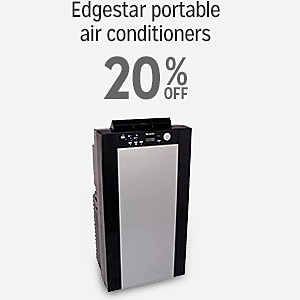 20% off Edgestar portable air conditioners