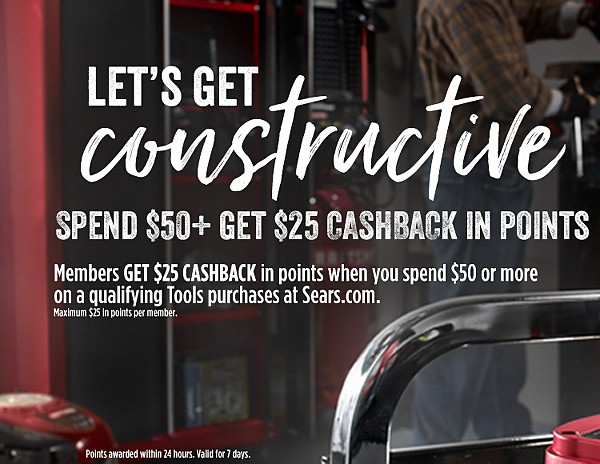 Spend 50 get $25 cashback in points