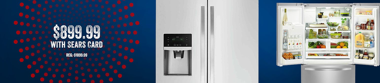 Kenmore 73025 26.1 cu. ft. French Door Refrigerator - Fingerprint Resistant Stainless Steel