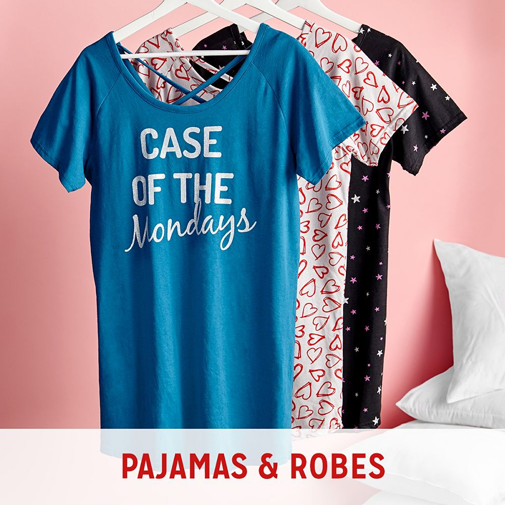 Women's Pajamas & Robes