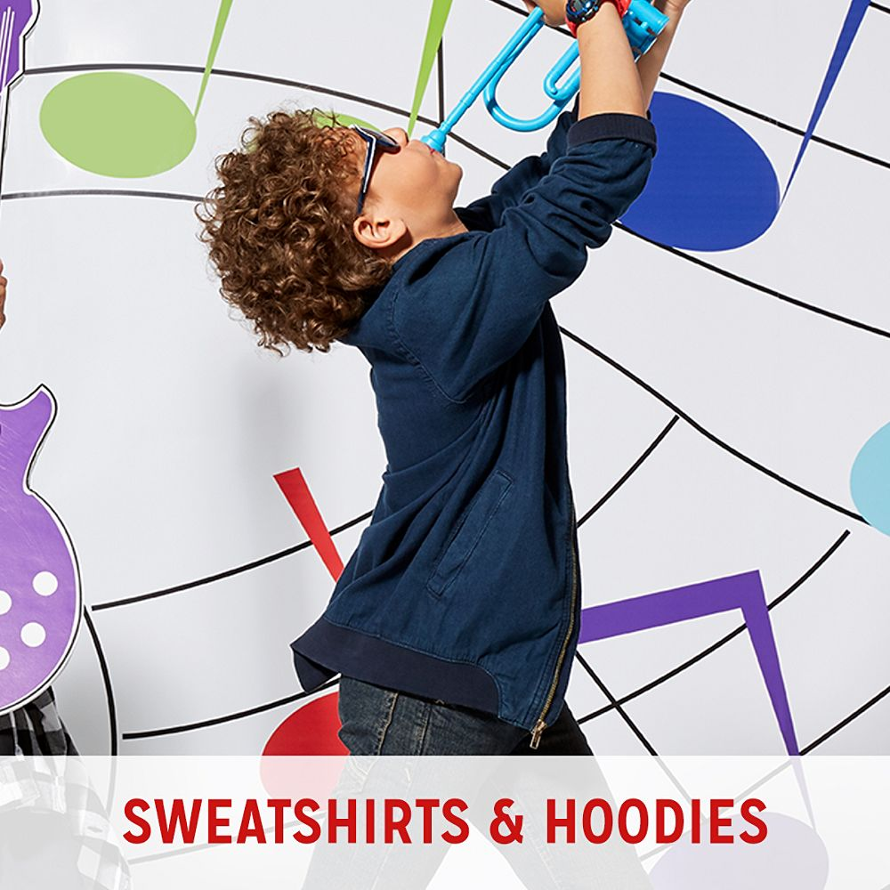 Boys' Sweatshirts & Hoodies