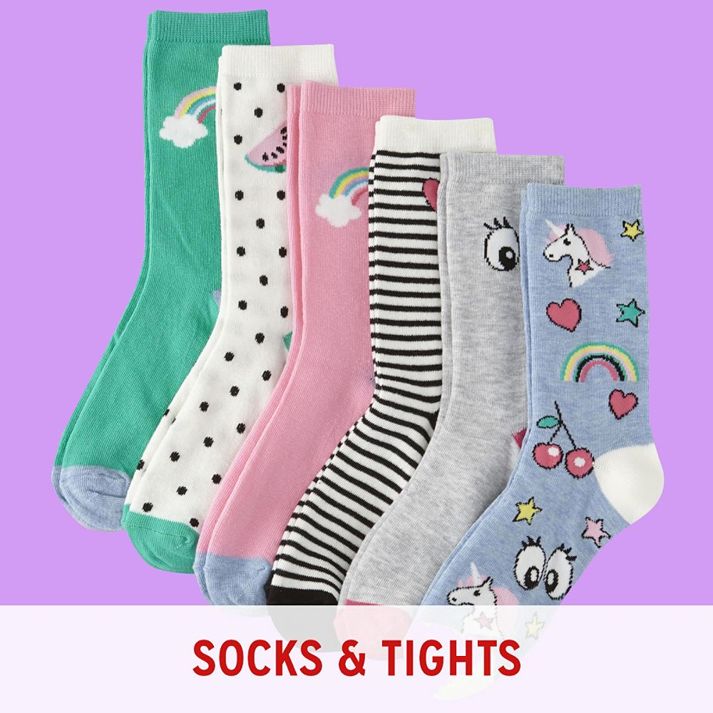 Girls' Socks & Tights