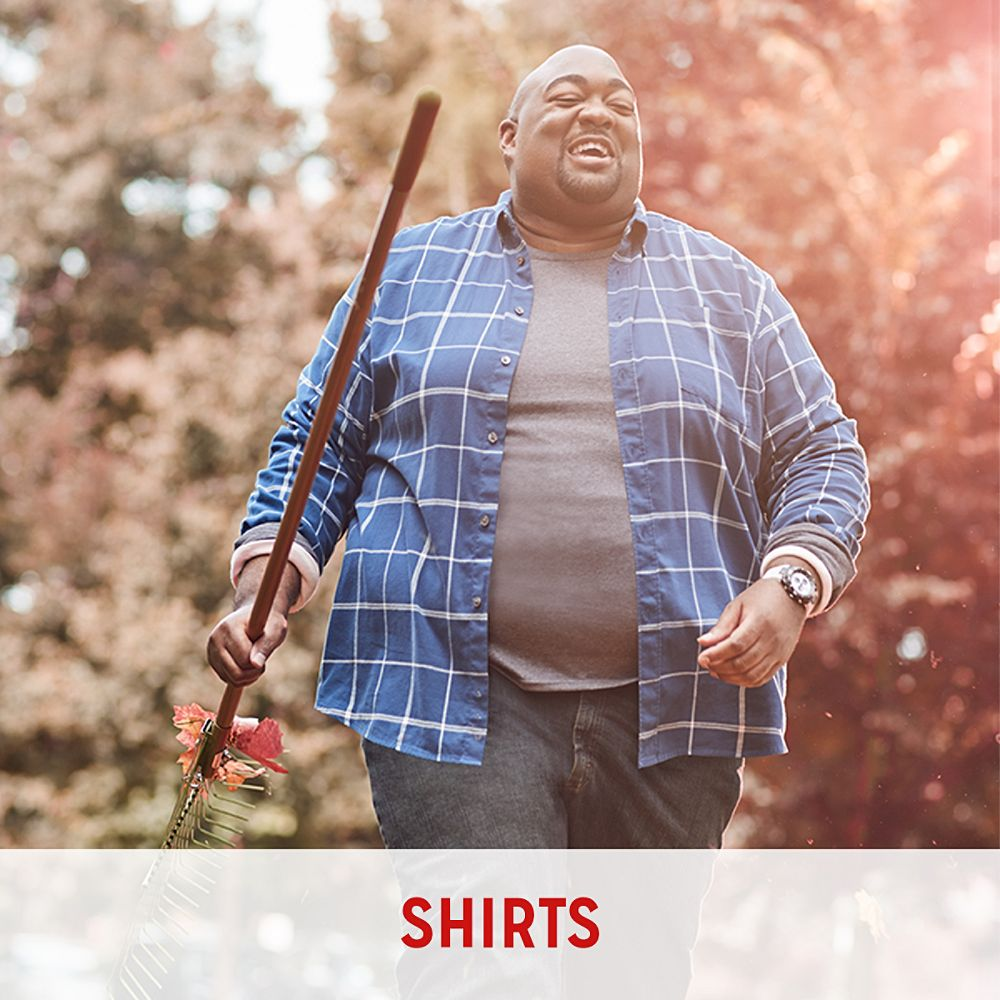 ae10605c4f Big and Tall Clothing | Big Men's Clothing - Kmart