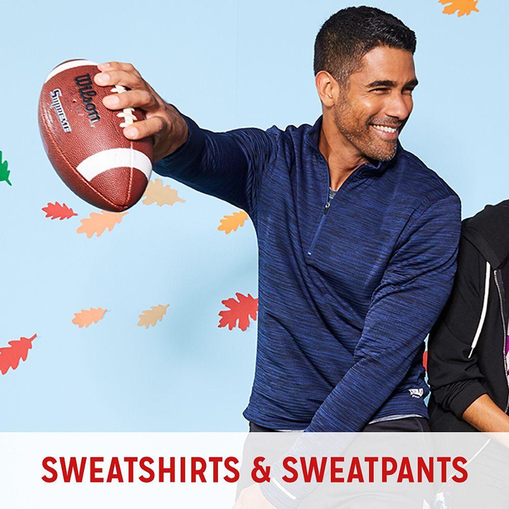 Big & Tall Sweatshirts & Sweatpants