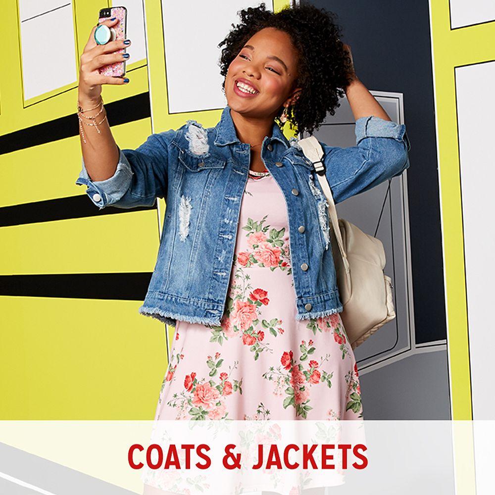 Juniors Coats & Jackets