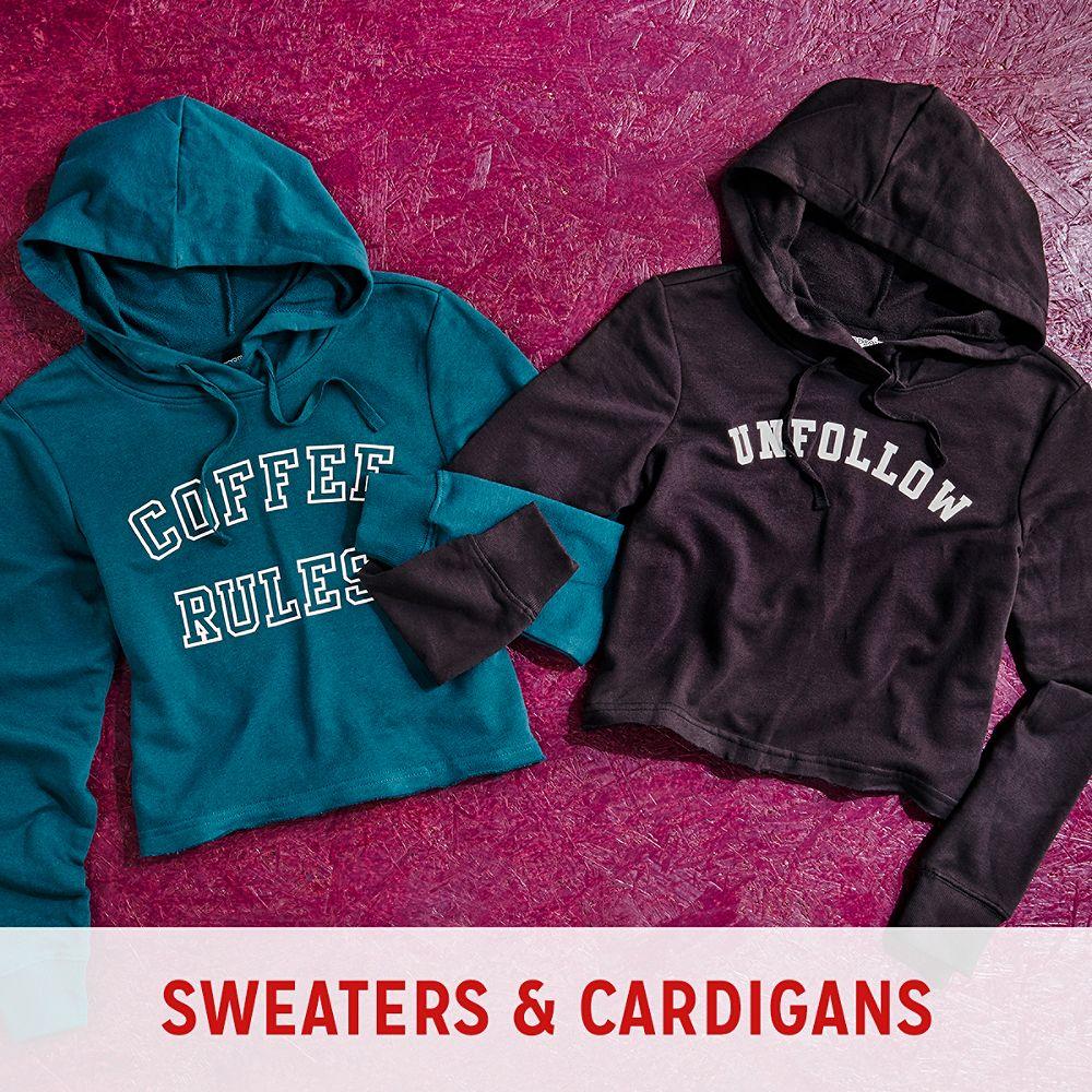 Juniors Sweaters & Cardigans