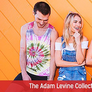 Adam Levine Clothing for Him and Her Starting at $9.99