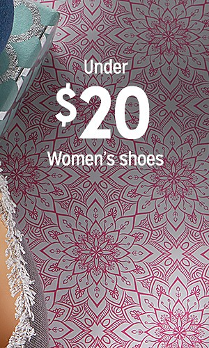 UNDER $20 women's shoes
