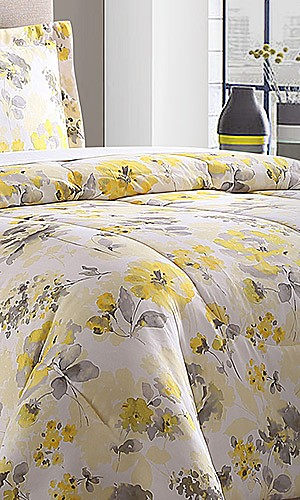 Essential Home microfiber comforters, $19.99 any size