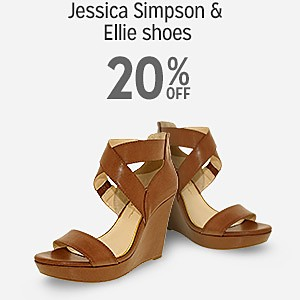 20% off Jessica Simpson & Ellie shoes