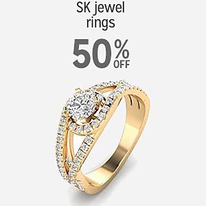 50% off SK Jewel rings