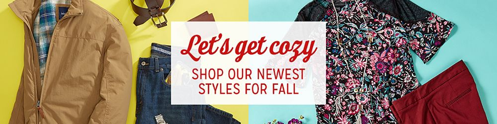 Let's Get Cozy | Shop our newest styles for fall