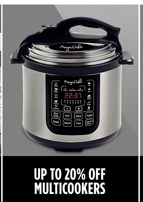 Multi-Cookers | Up to 20% Off