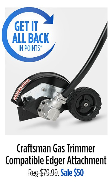 Craftsman Gas Trimmer Compatible Edger Attachment