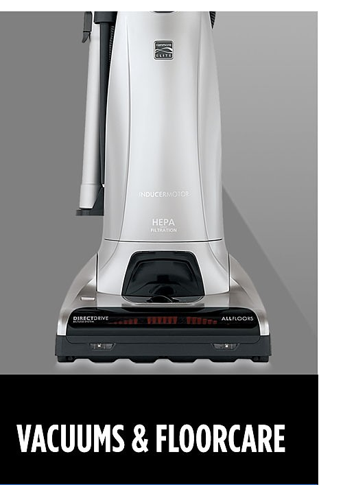 Vacuums and Floorcare | Spend $50 or more, get $50 cashback in points
