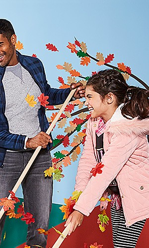 Coats & jackets for the family under $40