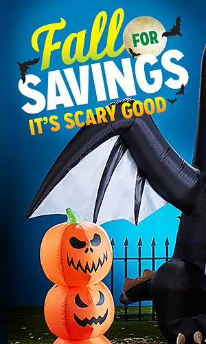 Halloween decor 25% off