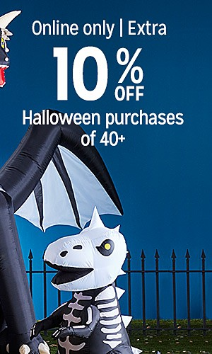 Halloween decor 25% off