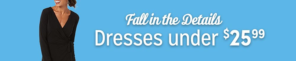 Fall in the Details | Dresses under $25.99