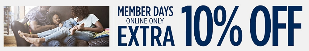 Member Days Extra 10% off