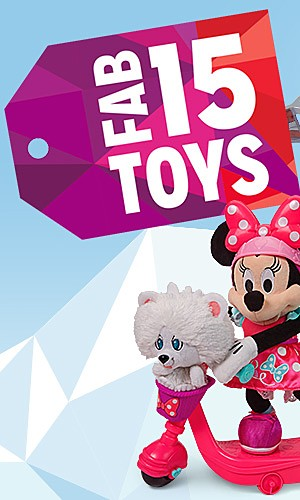 Fab 15, This Year's Hottest Toys