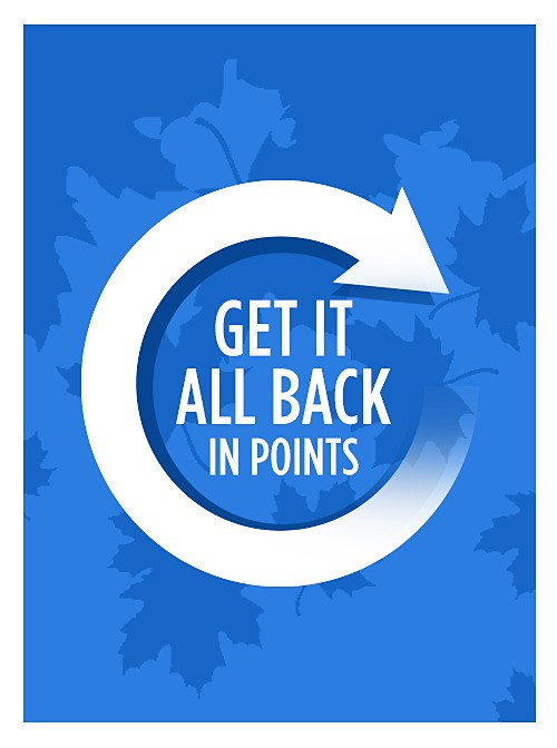 Get it All Back in Points