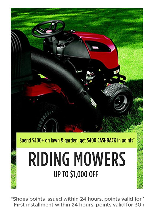 Riding Mowers