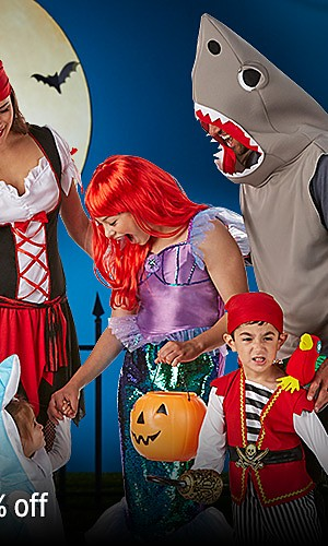 Get 100% CASHBACK in points on Halloween costumes & décor