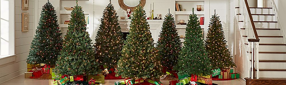 trees - Kmart White Christmas Tree