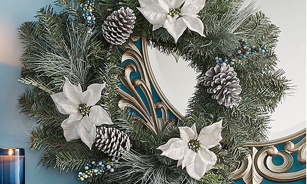 outdoor decor wreaths