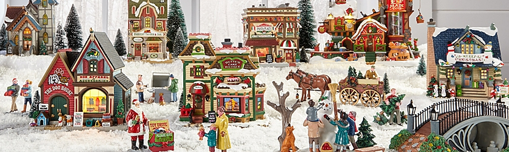 shop villages collectibles