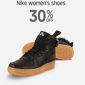 30% off Nike women's shoes