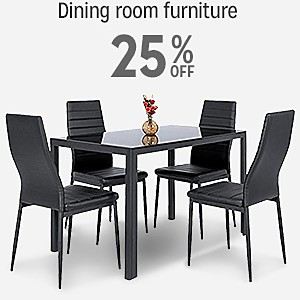 25% off dining room furniture