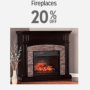 20% off fireplaces