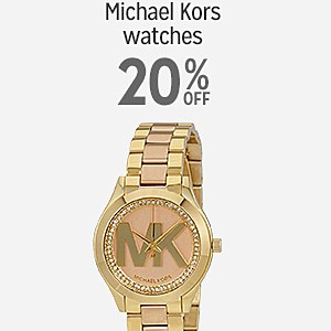 20% off Michael Kors Watches