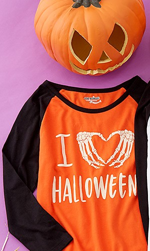Halloween tees up to 30% off