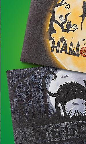 Halloween home decor, up to 25% off