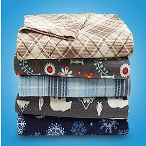 Flannel & fleece sheet sets, up to 70% off