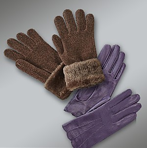 Women's cold weather accessories, up to 25% off