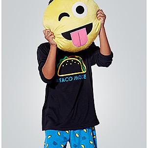 kids' pajamas, up to 25% off