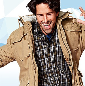 Coats & jackets, up to 25% off