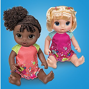 Baby Alive potty dance babies, $39.99