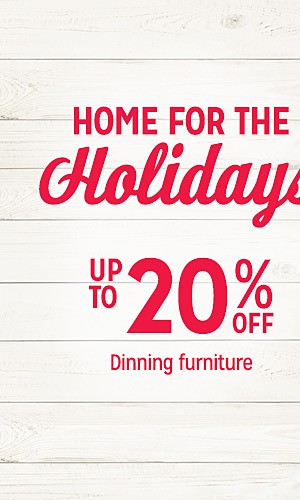 up to20% off dining furniture
