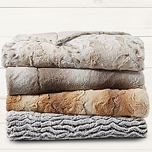 Cannon faux fur throw $14.99