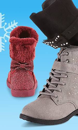 Women's & kids' fashion boots, 40% off